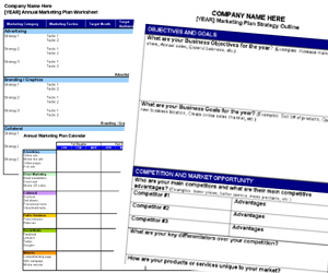 Free Annual Marketing Plan Templates And Resources Small Business Marketing Tools