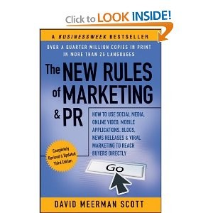 New Rules of PR book