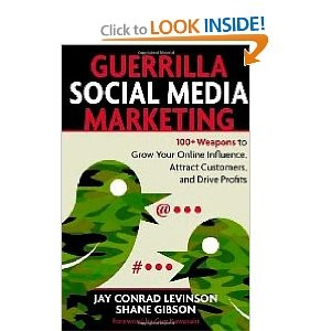 Guerrilla Social Media book