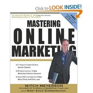 Mastering Online Marketing book