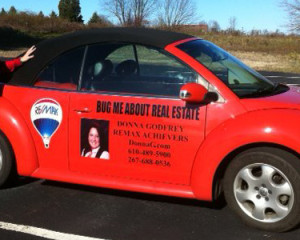 Creative Car Graphics and Vehicle Marketing Ideas for Local