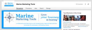 LinkdIn marine marketing tools