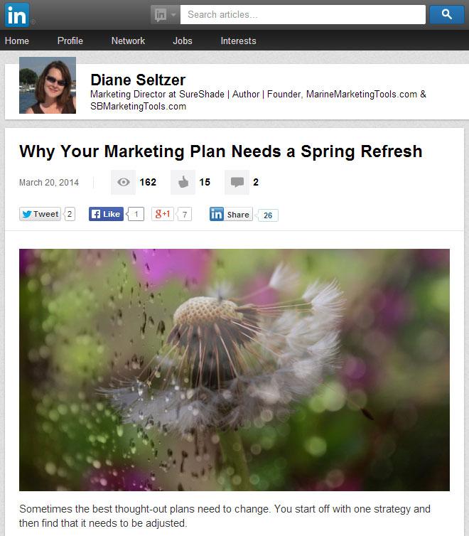 LinkedIn Publishing How to