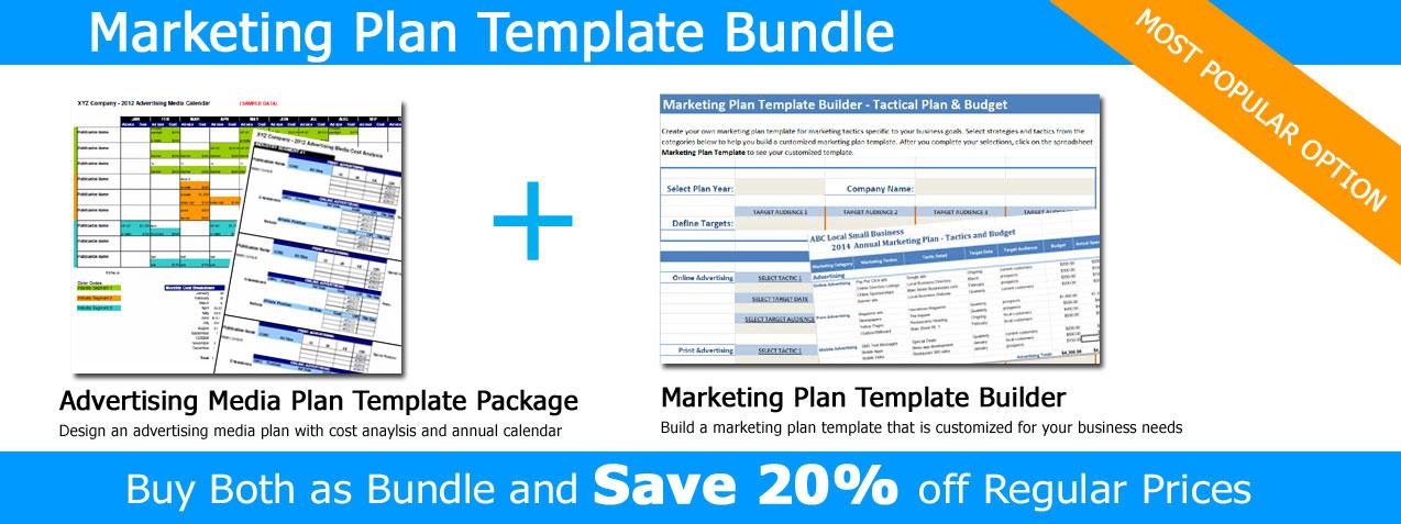 marketing plan template bundle