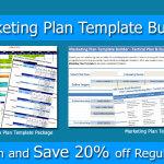 Marketing Plan Bundle: Marketing Template Builder and Advertising Media Plan