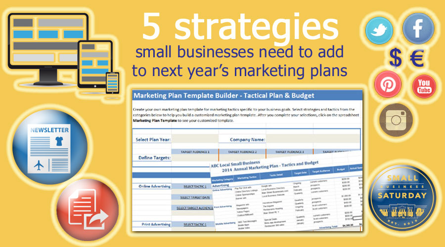 Annual marketing plan archives small business marketing tools 5 strategies small businesses need to add in next years marketing plans cheaphphosting Gallery