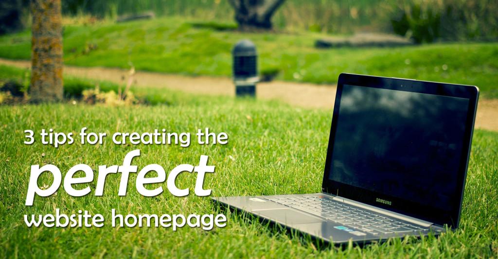 website home page design