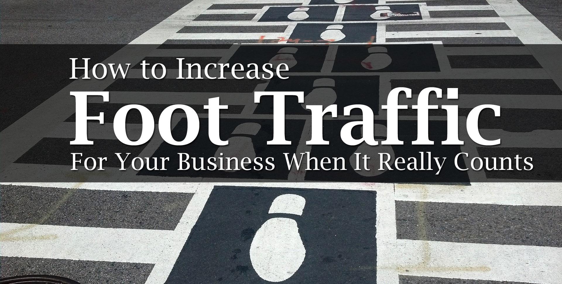 foot traffic business
