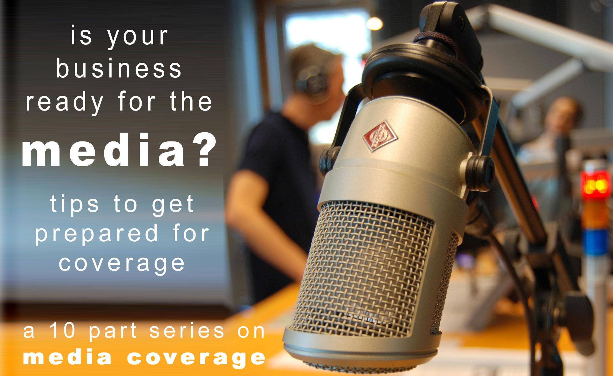 media coverage tips