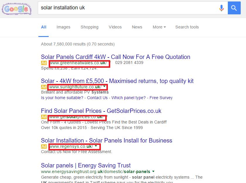 Google Ads New Business
