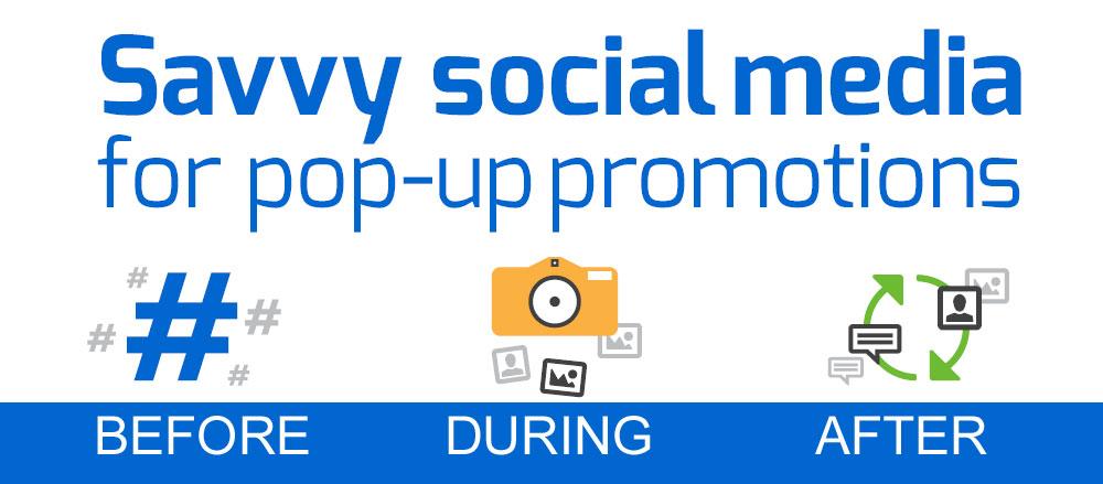 pop-up social promotions
