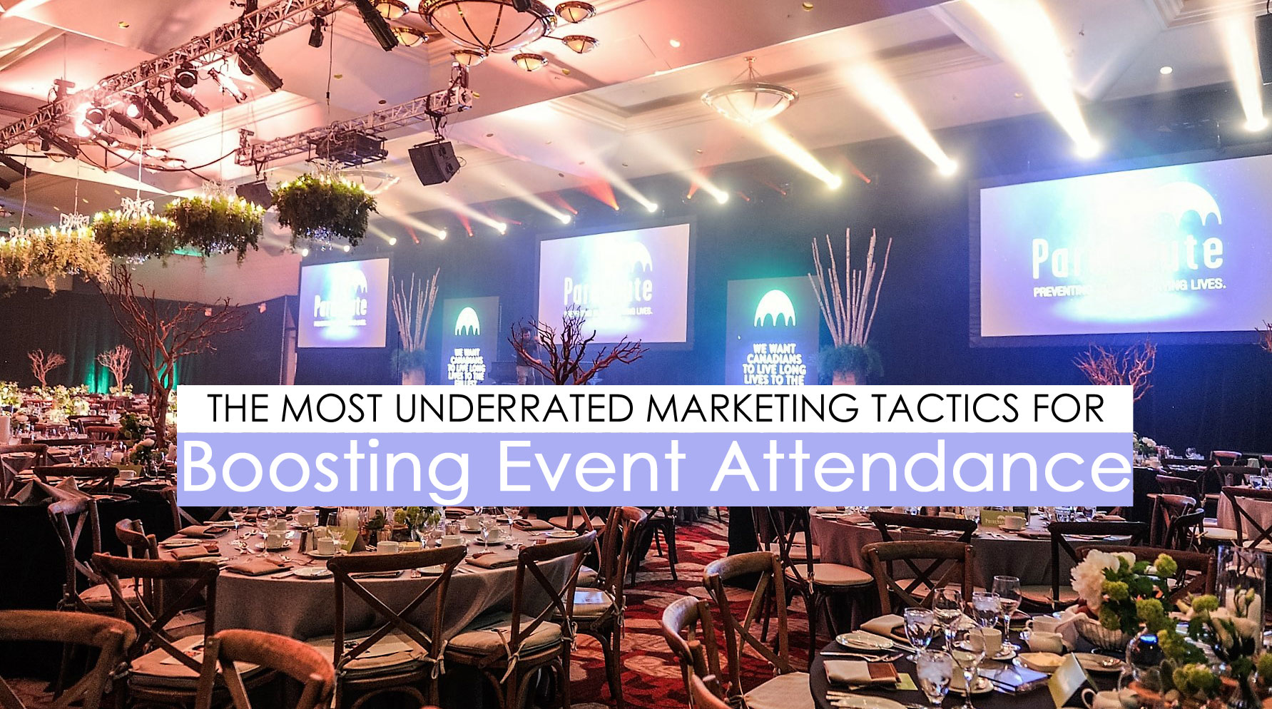 event marketing tactics