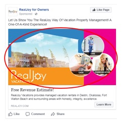 facebook ad bold images
