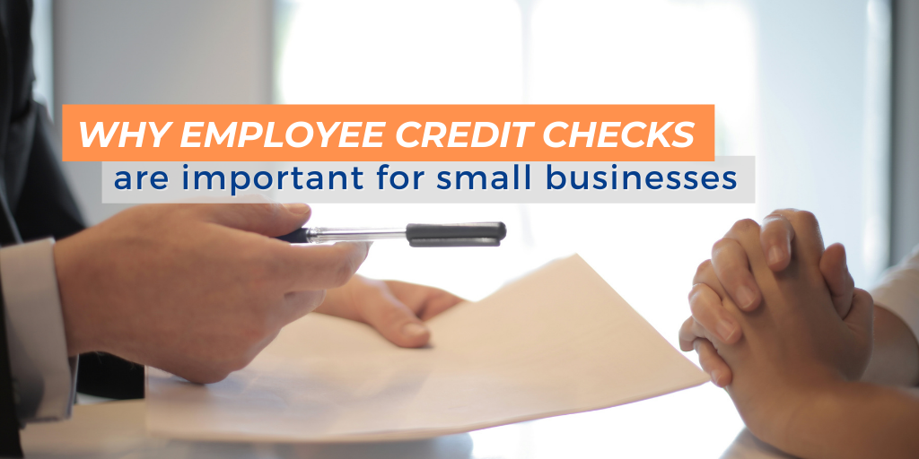 employee credit check